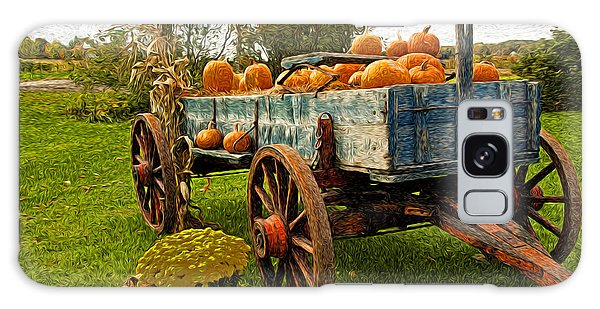 Pumpkins Galaxy Case by Bill Howard