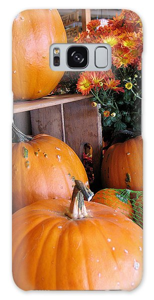 Pumpkins Galaxy Case by Gerry Bates