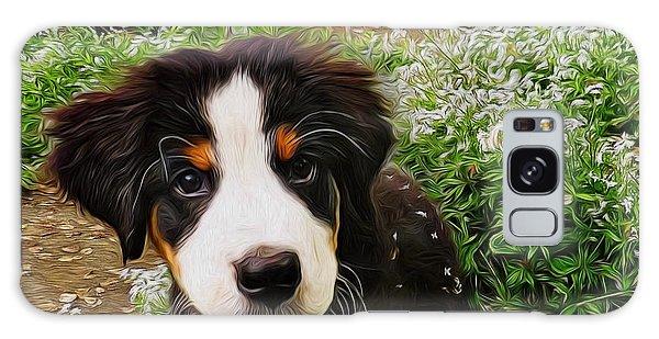Puppy Art - Little Lily Galaxy Case