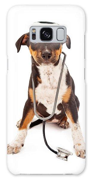Puppy Veterinarian Galaxy Case