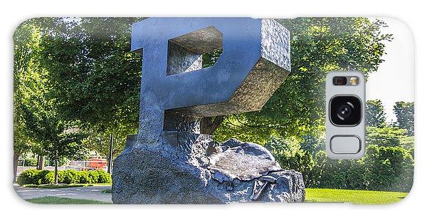 Purdue University Block P Project Statue Galaxy Case