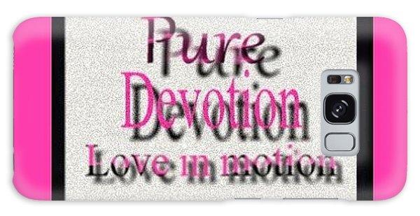 Pure Devotion Galaxy Case by Catherine Lott