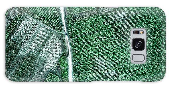 Countryside Galaxy Case - Pure Green by Zhou Chengzhou
