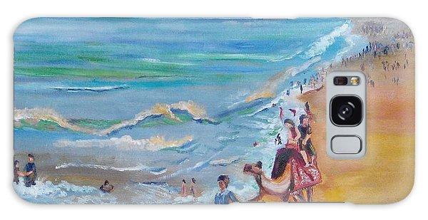 Puri Beach India Galaxy Case by Geeta Biswas