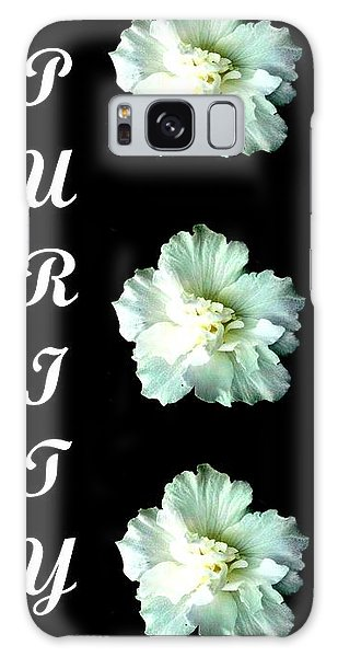 Purity Inspirational Art Collection By Saribelle Rodriguez Galaxy Case by Saribelle Rodriguez