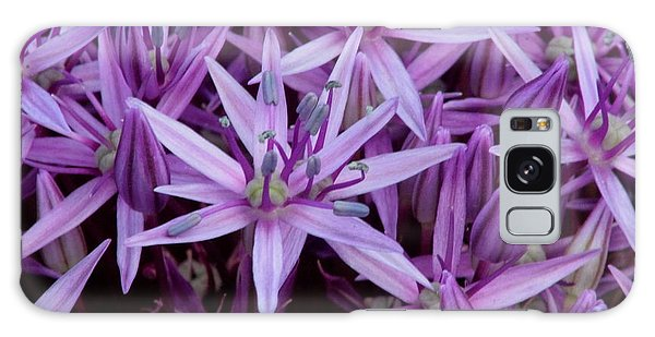 Purple Allium Galaxy Case
