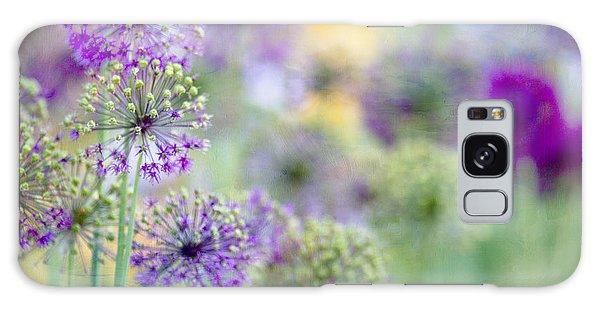 Purple Allium Galaxy Case