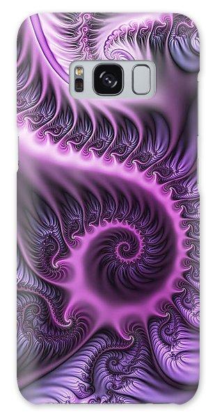 Purple And Friends Galaxy Case by Gabiw Art