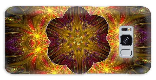 Purple Bliss Kaleidoscope Galaxy Case