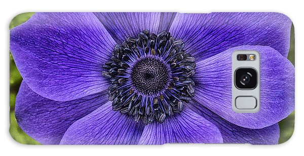 Purple Blue Anemone Galaxy Case