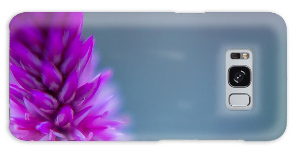Galaxy Case featuring the photograph Purple Blur by Steven Santamour