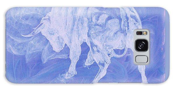 Purple Bull Negative Galaxy Case