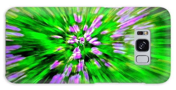 Purple Burst Galaxy Case