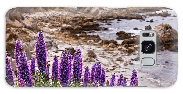Purple California Coastline Galaxy Case