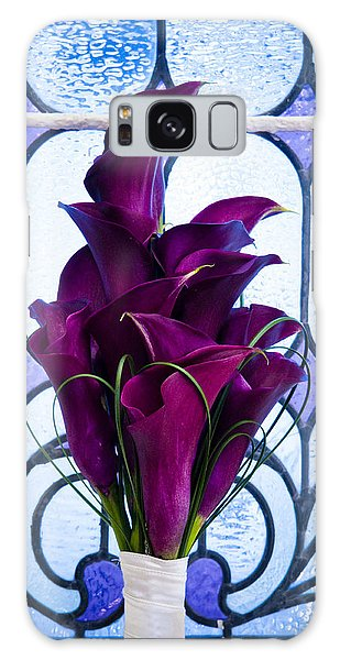 Purple Calla Lilies Galaxy Case
