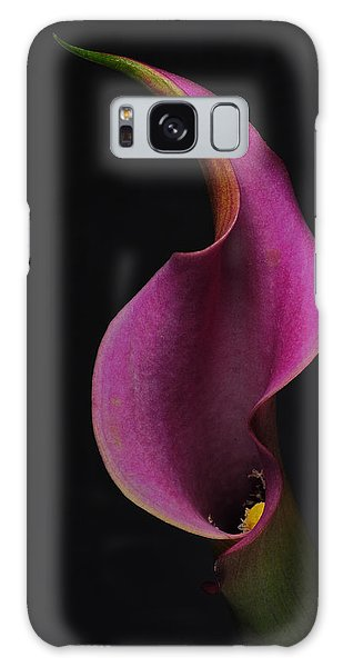 Purple Calla Lily Galaxy Case