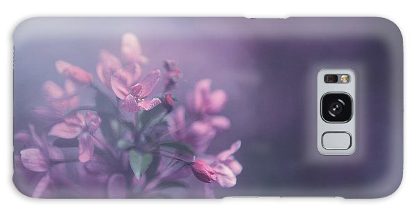 Blossoms Galaxy Case - Purple by Carrie Ann Grippo-Pike