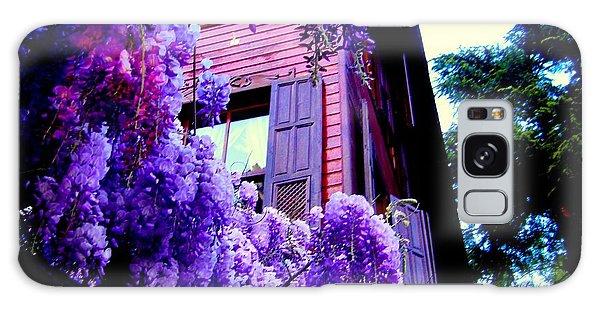 Purple Cheer Galaxy Case by Zafer Gurel