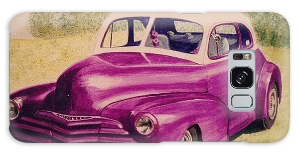Purple Chevrolet Galaxy Case by Stacy C Bottoms