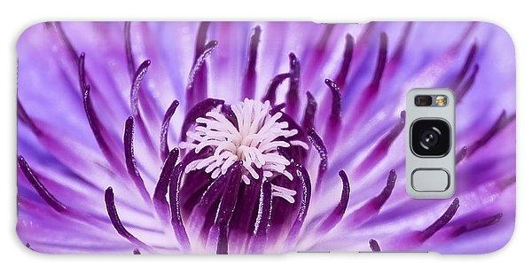 Purple Clematis Galaxy Case