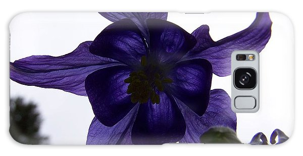 Purple Columbine Galaxy Case