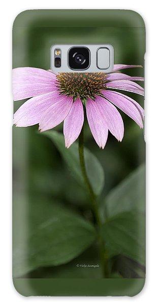 Purple Cone Flower Galaxy Case