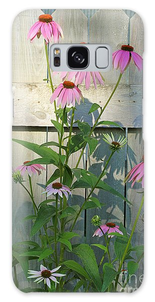 Purple Coneflower Galaxy Case