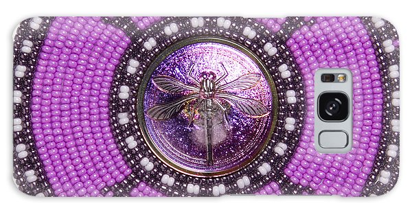 Purple Dragonfly Galaxy Case