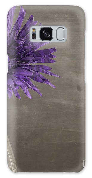 Breathe Galaxy Case - Purple Flower by Juli Scalzi