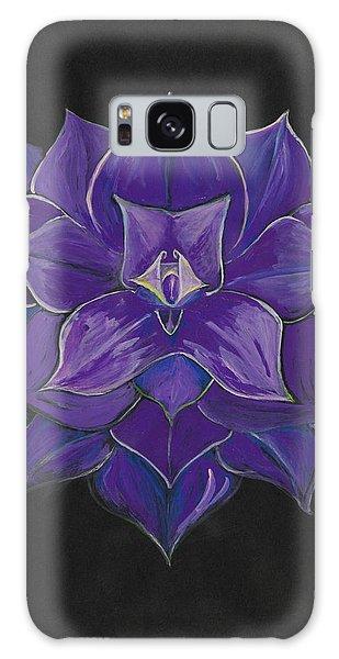 Purple Flower - Painting Galaxy Case