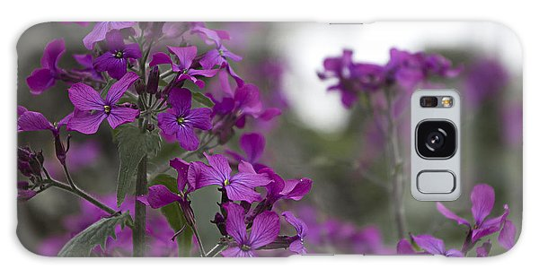 Purple Flowers Galaxy Case