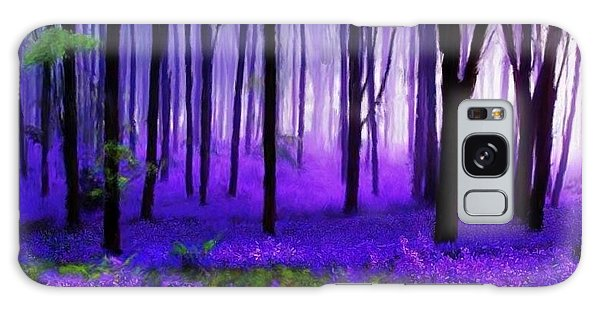 Purple Forest Galaxy Case by Bruce Nutting