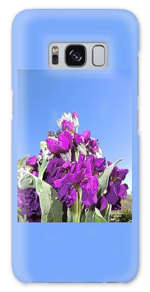 Purple Glow 2 Galaxy Case