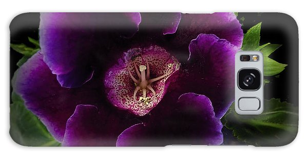Purple Gloxinia   Galaxy Case