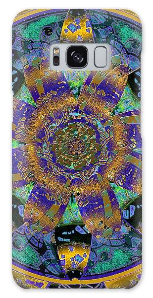 Purple Gold Dream Catcher Mandala Galaxy Case