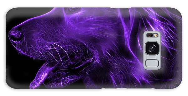 Purple Golden Retriever - 4047 F Galaxy Case