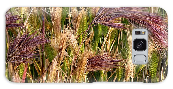 Purple Grasses Galaxy Case
