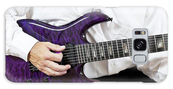Purple Guitar Galaxy Case