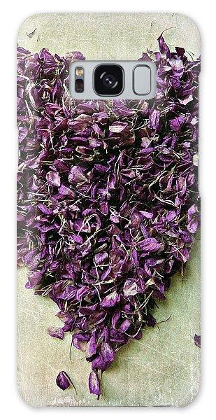 Purple Heart Galaxy Case