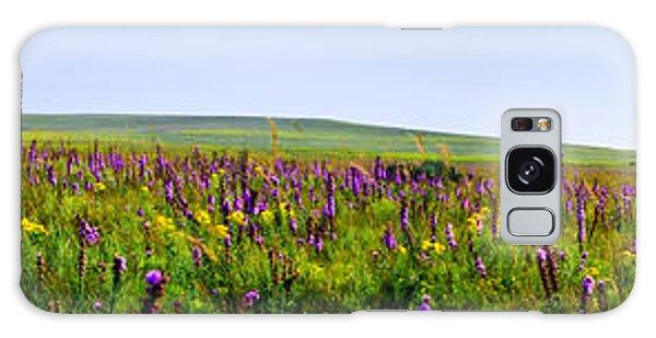 Purple Hills Galaxy Case