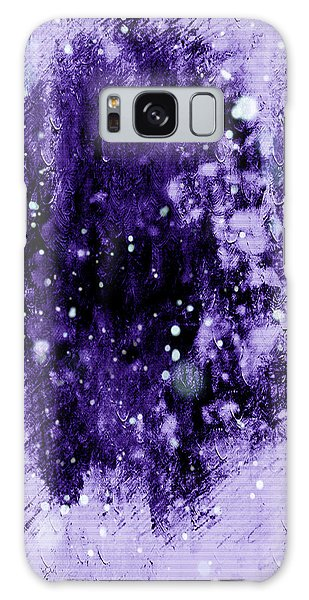 Purple Impression Galaxy Case