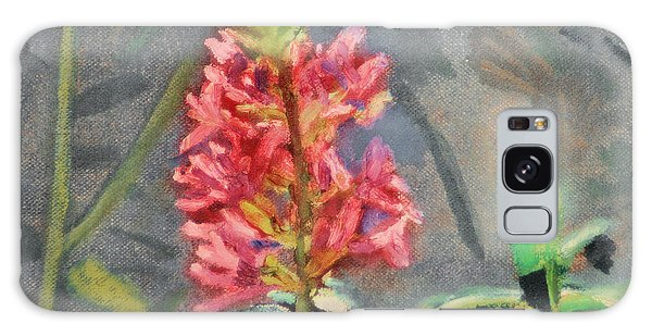 Purple Loosestrife Galaxy Case by Michael Daniels