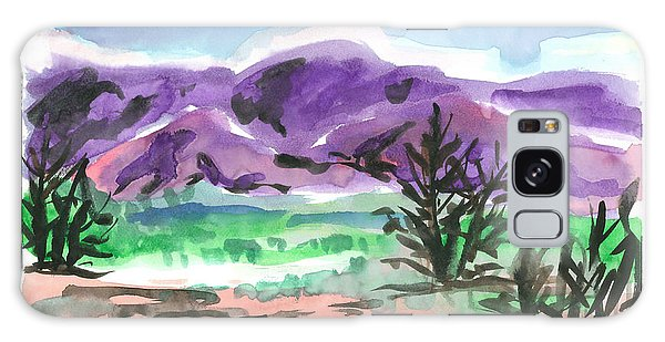 Purple Mountain Galaxy Case