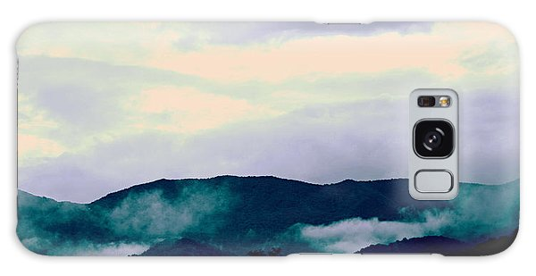 Purple Mountains Majesty Blue Ridge Mountains Galaxy Case by Kathy Barney