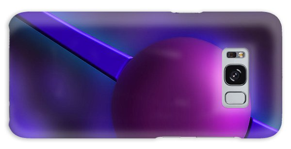 Purple Orb Galaxy Case