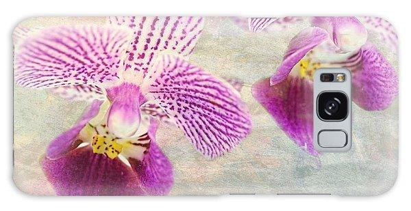 Purple Orchid 2 Galaxy Case