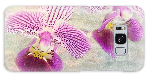 Purple Orchid 2 Galaxy Case