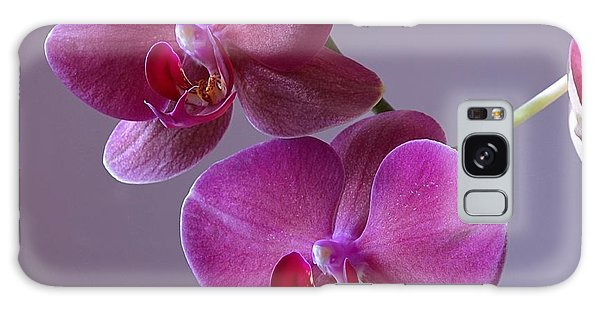 Purple Orchid Galaxy Case