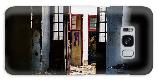 Purple Pants Galaxy Case