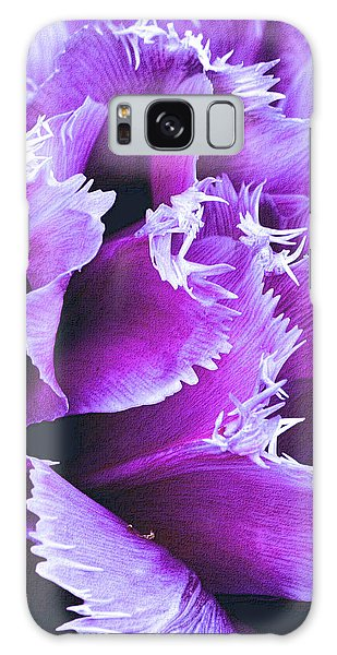 Purple Perfection Galaxy Case by Nadalyn Larsen
